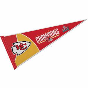 Kansas City Chiefs Super Bowl Champions Full Size Felt Pennant