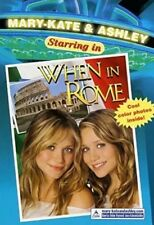 Mary-Kate & Ashley Olsen Starring In When In Rome By Megan Stine
