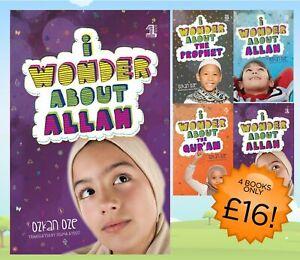Islamic Children's Books I WONDER SERIES Islam Prophet Muslim Fun Activity Kids