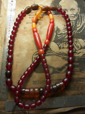 amazing Healing peace necklace many different beads and colors handmade Buddhist