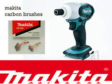 NEW Makita 18V Impact Driver dhp458 BTD140 dtd146 Genuine CARBON BRUSHES CB440