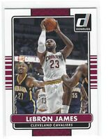 2014-15 Donruss Basketball #170 LeBron James Cleveland Cavaliers Los Angeles Lak
