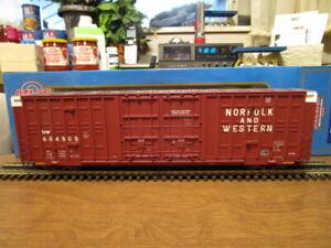 Atlas O 8623-5 Norfolk & Western 60' Berwick Hy-Cube Box Car #604505 in 3-Rail