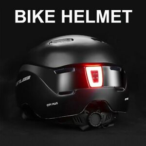 Light Bike Helmet City Cycling For Man Women Adult Bicycle Helmet Chargeable Dow
