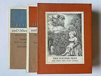 1st 1973 Maurice Sendak The Juniper Tree Tales from Grimm 2 Vol. Slipcase FINE