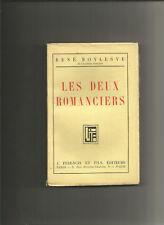 Les deux romanciers - René Boylesve E.O.