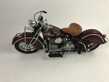 1:10 Franklin Mint 1942 Indian 442 Motorcycle **READ**