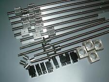 3 set linear rail SBR20-800/1500/2500mm+ 4 RM1605 ballscrew+BKBF12+ nut housing