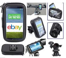 Bike Bicycle Motorcycle Waterproof Phone Case Bag w/ Handlebar Mount Holder