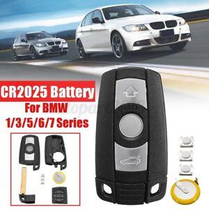 Remote Entry Key Keyless Shell Fob For BMW 1 3 5 6 7 Series E60 E61 E70 E87