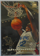 1993-94 Topps Stadium Club Rim Rockers #1 Shaquille O'Neal Orlando Magic