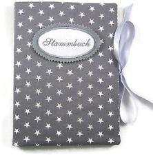 Stammbuch DIN A5 Sterne grau Sammelmappe - bettina bruder®