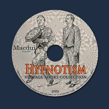 Hypnotism Old Books Collection 37 PDF E-Books 1 DVD Mesmerizm, Mind Reading