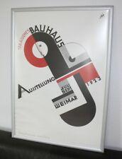 Original  Bauhaus Weimar 1923 Joost Schmidt Ausstellungs  Poster