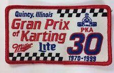 Grand Prix Karting Patch Quincy Il Miller Light PKA 30 1970-99 Go Cart Racing
