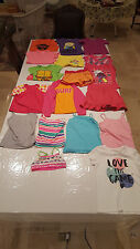 18pc LOT GIRLS SIZE 7/8 SUMMER CLOTHES Mixed Brand Names Tops Tanks Shorts