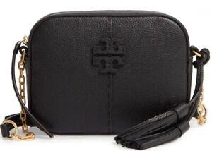 Tory Burch McGraw Leather Camera Bag. Brand New.