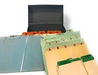 Vintage J. Chein & Co.Metal Recipe Index Card Storage Box USA
