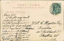 William Hayden. 38 Christchurch Road, Streatham Hill, London 1904    RM.332