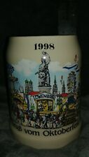 1998 Grub Vom Oktoberfest beer stein mug Carnival