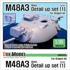 DEF.MODEL, DM35029, U.S M48A3 Basic Detail up set #1 (for Dragon), 1:35