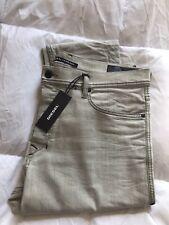 Jeans Diesel Tepphar Beige Chiaro 36 Slim Carot Trendy