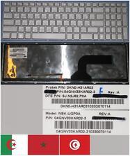 Clavier Qwerty Arabe ASUS G60 G72 G73 NSK-UGP0A 9J.N2J82.P0A Gris-frame Backlit