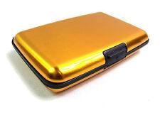 METAL ALUMINIUM CREDIT CARD WALLET HOLDER BUSINESS ID RFID BLOCKING POUCH PURSE