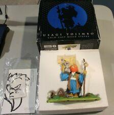 "YOUNG USAGI Yojimbo & KATSUICHI 7"" Cold-cast Resin Statue + sketch & Signature"
