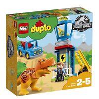 LEGO DUPLO Jurassic World Set Mattoncini la Torre del T. Rex, 10880 New