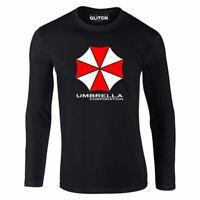Herren Umbrella Corporation Langarm-T-Shirt Geschenk