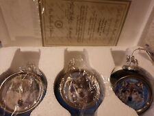 31pcs Bradford Editions Porcelain Wolf Ornament Collection & Ashton Drake Lot