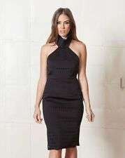 Finders Keepers Black 'Limitless Midi Dress' Size AUS: XS