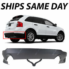 New Textured Gray - Lower Rear Bumper Cover For 2011-2014 Ford Edge W/out Tow