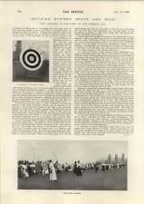 1898 Lady Archers Destruction Of Pompeii Alexandra Palace