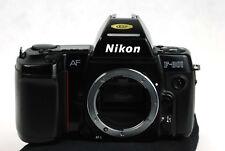 Nikon F-801 gebrauchter Zustand ein unterschätzter Klassiker  anschauen lohnt.