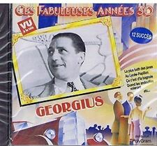 Ces Fabuleuses Années 30 [CD] Georgius (0900) la plus bath des javas
