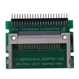 IDE 44 Pin Male to CF Compact Flash Male Adapter Connector Q4G4 mu bv