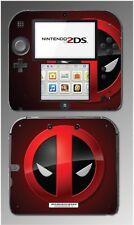 Deadpool Anti Super Hero Wade Wilson X-Men Video Game Skin Cover Nintendo 2DS