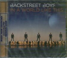 BACKSTREET BOYS IN THE WORLD LIKE THIS SEALED CD NEW 2013
