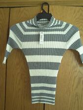 Girls Polar bear Striped Worthington Sweater Sz M