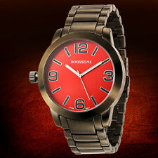 rousseau casual wristwatches rousseau conrad mens watch