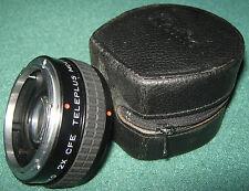 """Fotografia/Video/Filtro/Obiettivo"""" KENKO 2X CFE TELEPLUS MC4 """"Duplicatore Focale"""