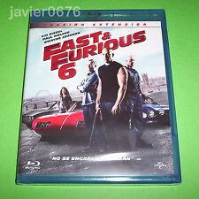 FAST & FURIOUS 6 - BLU-RAY NUEVO Y PRECINTADO
