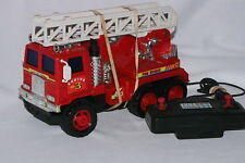 1980's Battery Operated Kenworth Fire Truck