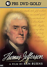 DVD Thomas Jefferson by Ken Burns PBS NEW/Sealed 3 Hour Presentation