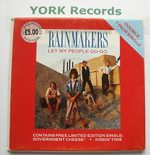 "RAINMAKERS - Let My People Go-Go *DOUBLE PACK* - Ex 7"" Single Mercury MERD 238"