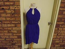 Brand New With Tags Forever New Kristy Chain Neck Wrap Dress sz 8 RRP $99.99