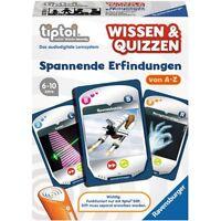 Ravensburger 00750 Tiptoi Wissen und Quizzen - Spannende Erfindungen  NEU OVP -
