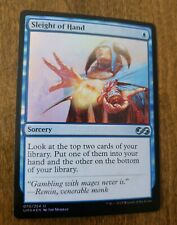 foil MTG ULTIMATE MASTERS Sleight of Hand